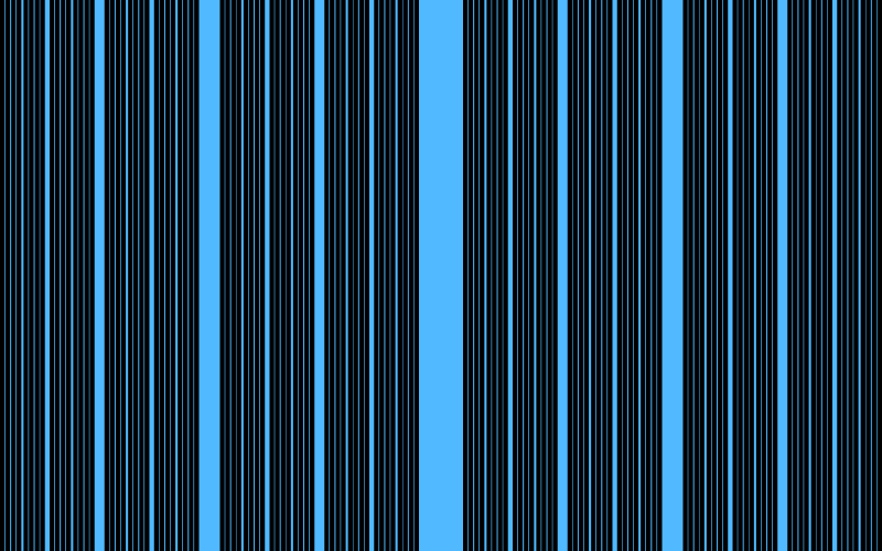This example sets barcode option to true that makes it skip the first seven iterations and draw only the eighth iteration. This option stretches the final set to the entire image with dimensions 800x500 pixels.