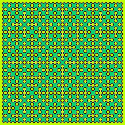 This example draws a Sierpinski curve in verdant green colors. It also sets iterations to 5 and curve size of curve 500x500 pixels.